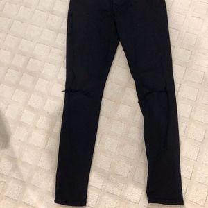 Black Ripped Joe Jeans